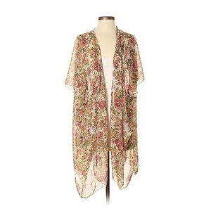 Brandy Melville Alexis Floral Ivory Kimono (S)